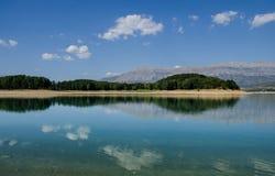 Perucko sjö i Kroatien Royaltyfria Foton