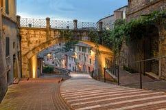 Perugia - über dell& x27; Acquedotto Lizenzfreie Stockfotos