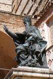 Perugia Bronze statue of Pope Julius III Royalty Free Stock Image
