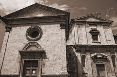 Perugia Churches. Umbria. Stock Photography