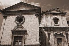 Perugia Churches. Umbria. Stock Photography