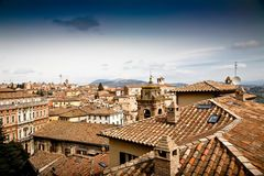 Perugia Cityscape Stock Photo