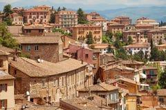 Perugia, Itália fotografia de stock
