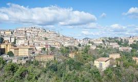Perugia Italien Royaltyfri Foto
