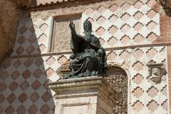 Statue of Pope Julius III Stock Photography