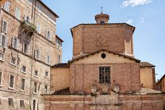 Perugia Italy stock image