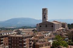 Perugia. Italy. Umbrian landscape. Stock Image