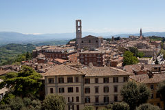 Perugia. Italy. Umbrian landscape. Stock Photos