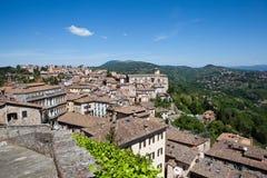 Perugia. Italy. Umbrian landscape. Royalty Free Stock Image
