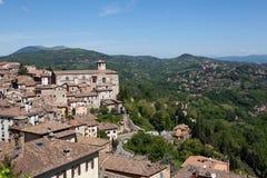 Perugia. Italy. Umbrian landscape. Royalty Free Stock Photo