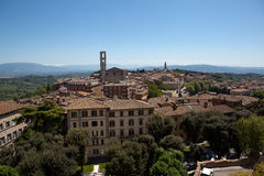 Perugia. Italy. Umbrian landscape. Stock Photography