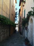 Perugia. Italy vacation village street Royalty Free Stock Photography