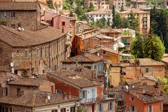 Perugia, Italy Royalty Free Stock Photos