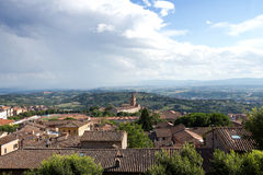 Perugia, panoramic view - Umbria Stock Image
