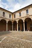 Perugia - San Pietro cloister, Umbria, Italy Royalty Free Stock Photos