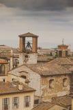 Perugia-Skyline gesehen Lizenzfreies Stockbild