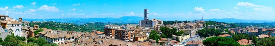 Perugia skyline Royalty Free Stock Photos