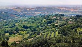 Perugia, sobborghi Fotografia Stock Libera da Diritti