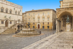 Perugia square Stock Photo