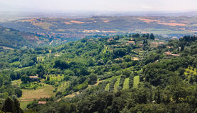 Perugia, suburbs Royalty Free Stock Photography