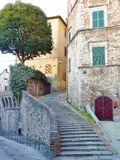 Perugia in Tuscany in Italy Royalty Free Stock Photography