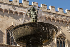 Perugia - Monumental fountain Royalty Free Stock Photography