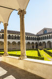 Perugia - Gothic church, cloister Royalty Free Stock Photography