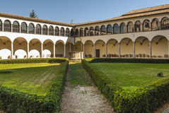 Perugia - Gothic church, cloister Royalty Free Stock Images