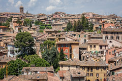 Perugia in Umbria, Italy Stock Images