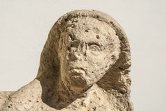 Ruin of ancient marble statue Stock Photo