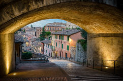 Perugia Via Appia Royalty Free Stock Image