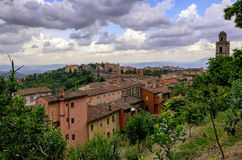 Perugia & x28;Umbria& x29; panorama Royalty Free Stock Photos