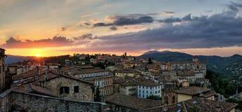 Perugia & x28;Umbria& x29; panorama from Porta Sole Stock Photo