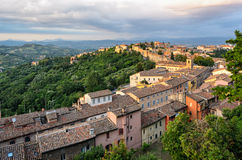 Perugia & x28;Umbria& x29; panorama from Porta Sole Stock Photos