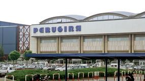 Perugina chocolate factory Stock Photo