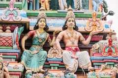 perumal ναός srinivasa sri Σινγκαπούρης Στοκ φωτογραφία με δικαίωμα ελεύθερης χρήσης