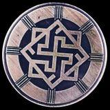Perunitsa eller Valkyrie Berlock och att bevaka visheten och rättvisan, värdighet, heder Arkivfoton