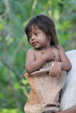 Peruviaans kind Royalty-vrije Stock Fotografie