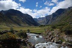 Peruviaans landschap Royalty-vrije Stock Fotografie