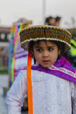 Peruviaans meisje stock afbeeldingen