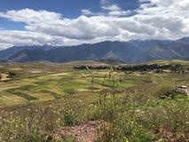 Peruviaanse Bergen Royalty-vrije Stock Foto's