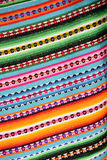 Peruviaanse Deken Royalty-vrije Stock Afbeeldingen