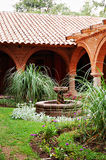 Peruviaanse Entryway royalty-vrije stock afbeelding