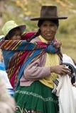 peruvian Перу мати ребенка стоковые фото