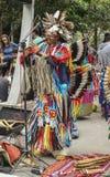 Peruvian соединяют играть и петь на бульвар Paulista стоковые фото