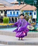 peruvian танцора Стоковое Изображение RF