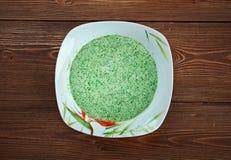 Peruvian Aji Verde Sauce Royalty Free Stock Photos