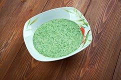 Peruvian Aji Verde Sauce Stock Images