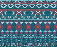 American indian pattern tribal ethnic motifs geometric vector background. Peruvian american indian pattern tribal ethnic motifs geometric seamless background royalty free illustration