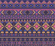 American indian pattern tribal ethnic motifs geometric vector background. Stock Images